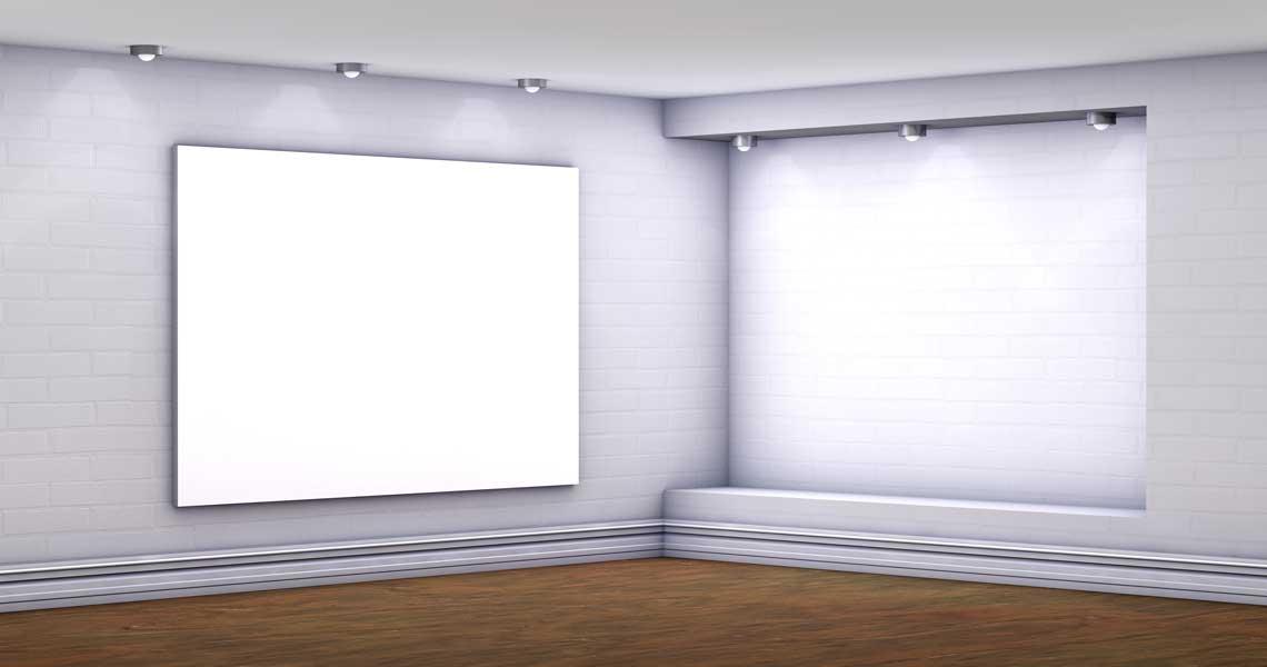 Smart-Frame-LED-Wandmontage