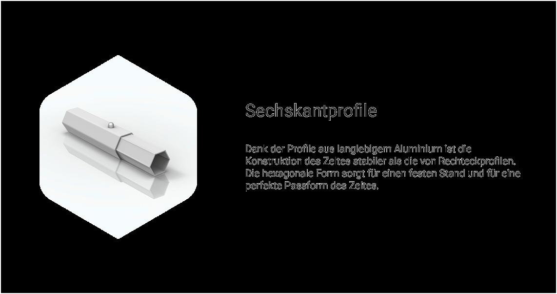 Faltzelt_Pavillon_Sechskantprofile